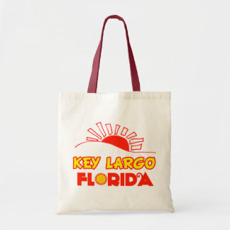 Key Largo, Florida Canvas Bags