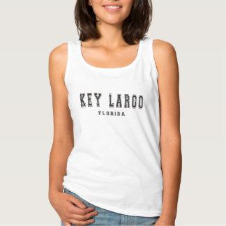 Key Largo Florida Basic Tank Top