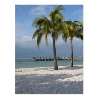 Key Largo Florida beach scene Postcard