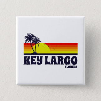 Key Largo Florida Button