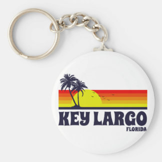 Key Largo Florida Keychain