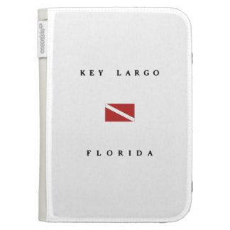 Key Largo Florida Scuba Dive Flag Kindle Cases