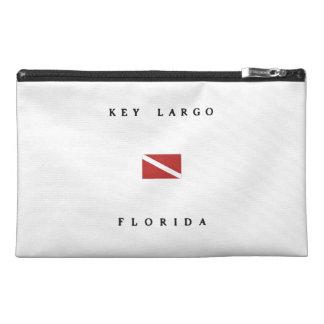 Key Largo Florida Scuba Dive Flag Travel Accessory Bag