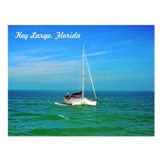 Key Largo, Florida, U.S.A. Postcard