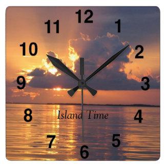 Key Largo Keys Wall Clock