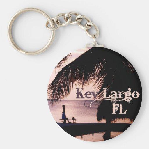 Key Largo Sunset Key Chains