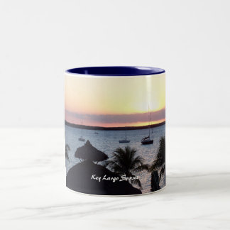 Key Largo Sunset Two-Tone Coffee Mug