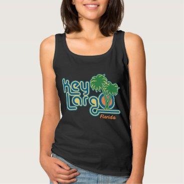 Beach Themed Key Largo Tank Top