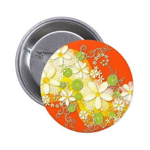 Key Lime Garland Button