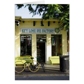 Key Lime Pie Greeting Card