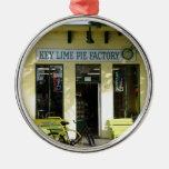 Key Lime Pie Christmas Tree Ornament