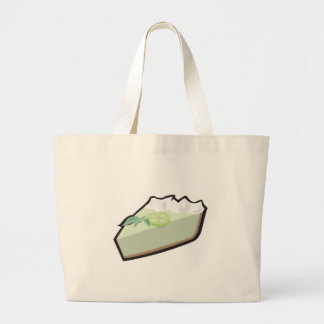 key lime pie large tote bag