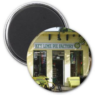 Key Lime Pie Refrigerator Magnets