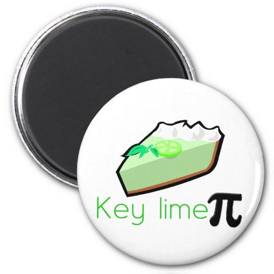 Key Lime Pie Magnet