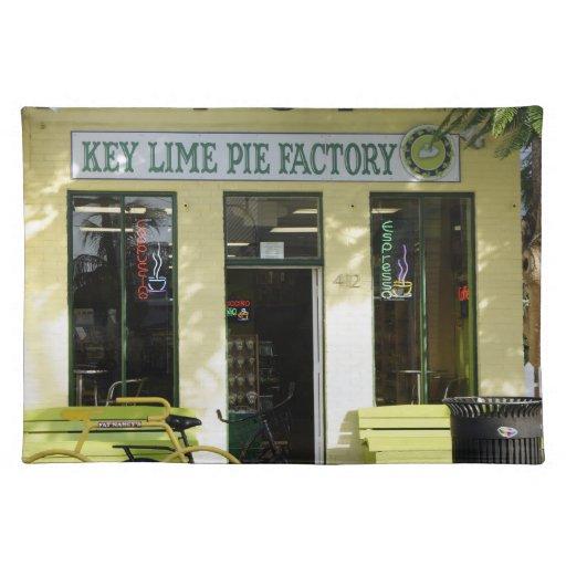 Key Lime Pie Place Mats