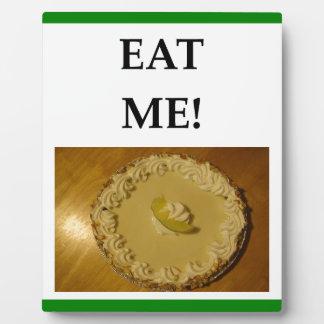 key lime pie plaque