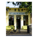 Key Lime Pie Post Card
