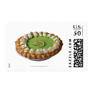 Key lime pie postage