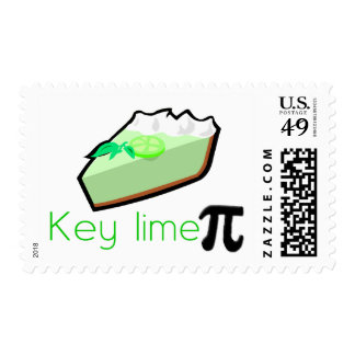 Key Lime Pie Postage Stamp