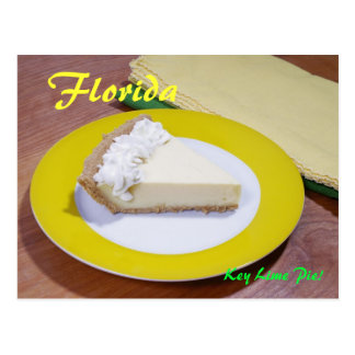 Key Lime Pie Postcard
