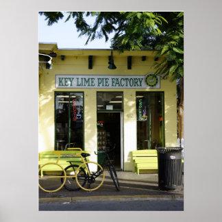 Key Lime Pie Poster