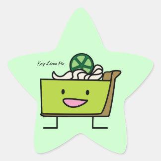 Key Lime Pie Star Sticker