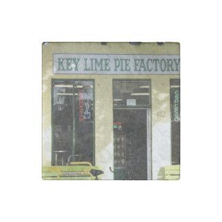 Key Lime Pie Stone Magnet