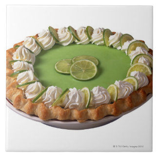 Key lime pie tile