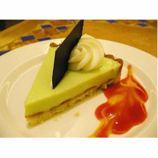 Key Lime Pies Dessert Food Standing Photo Sculpture
