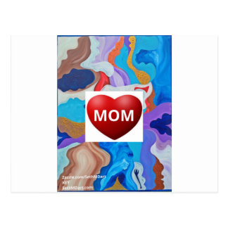 Key Love Mom Postcard