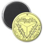 Key of Solomon 17 2 Inch Round Magnet
