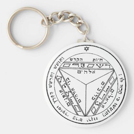 Key of Solomon 17 Keychains