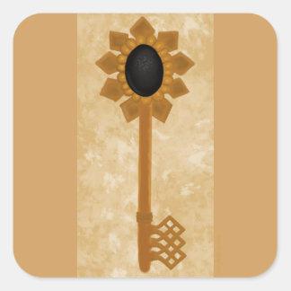 Key of the Future Square Sticker