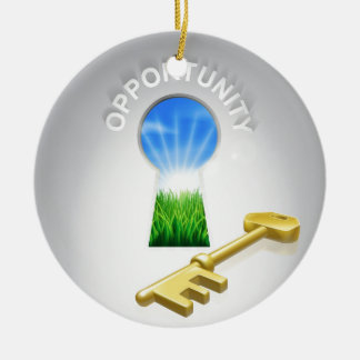 Key Opportunity Concept Ornament