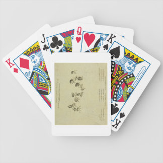 Key Plate to Portrait of the Royal Family at Osbor Bicycle Playing Cards