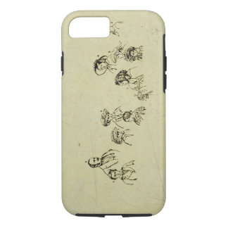 Key Plate to Portrait of the Royal Family at Osbor iPhone 8/7 Case