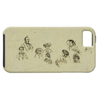 Key Plate to Portrait of the Royal Family at Osbor iPhone SE/5/5s Case