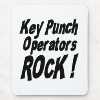 Key Punch Operators Rock! Mousepad