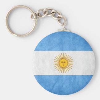 "Key ring ""ARGENTINA "" Basic Round Button Keychain"