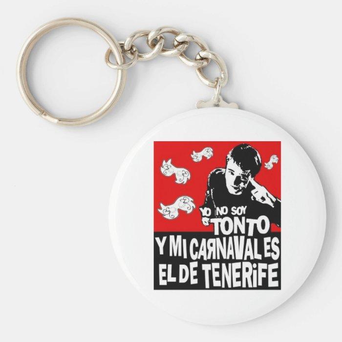 Key ring Carnival of Tenerife Keychain