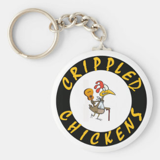 KEY RING - Crippled Chickens