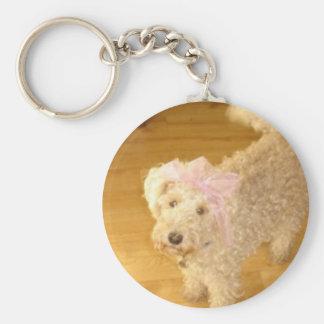 Key ring cute lakeland terrier
