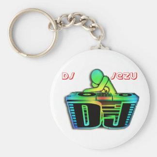 key ring dj jezu keychain