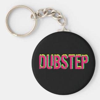 Key-ring Dubstep music Basic Round Button Keychain