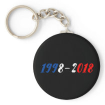 Key-ring France World champions 1998-2018 Keychain