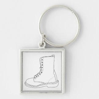 Key ring Illustration Boot Keychain