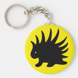 Key ring Liberal porcupine - M1 Keychain