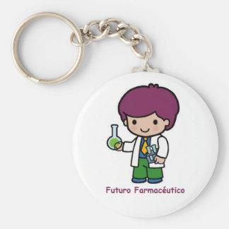Key ring of pharmaceutical future key chain