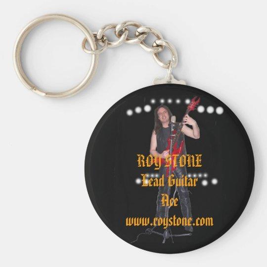 KEY RING, ROY STONE Lead Guitar Ace  ... Keychain