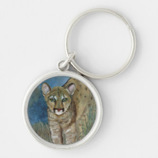 Key Ring showing a young Florida Panther
